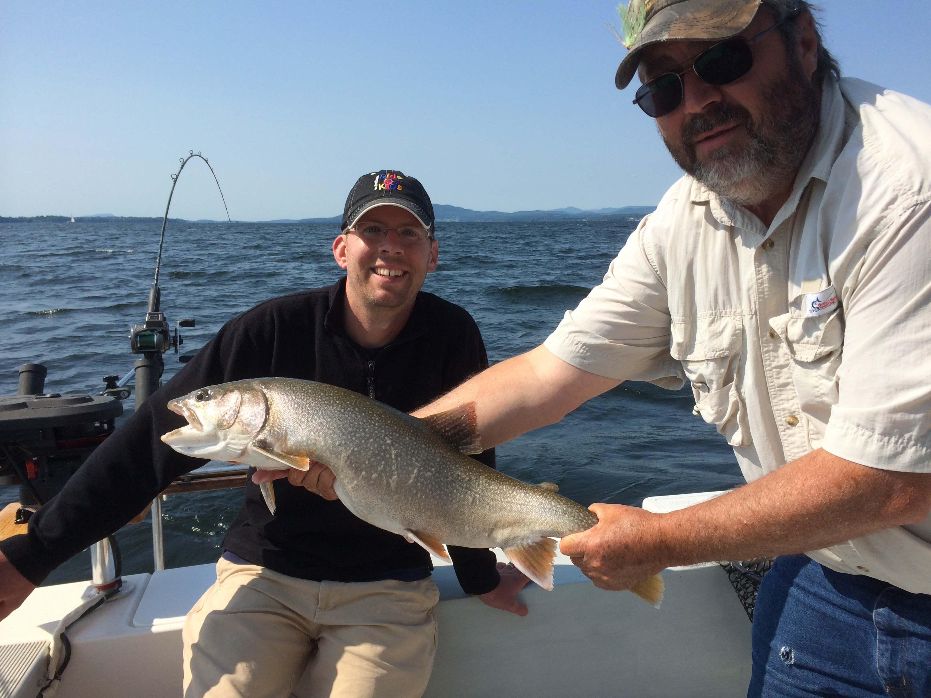 2014 fishing trips fish n rigg charters for Vermont fishing license