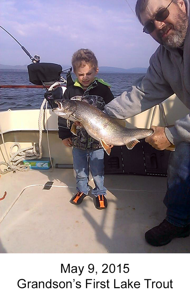 Skyler's First Lake Trout